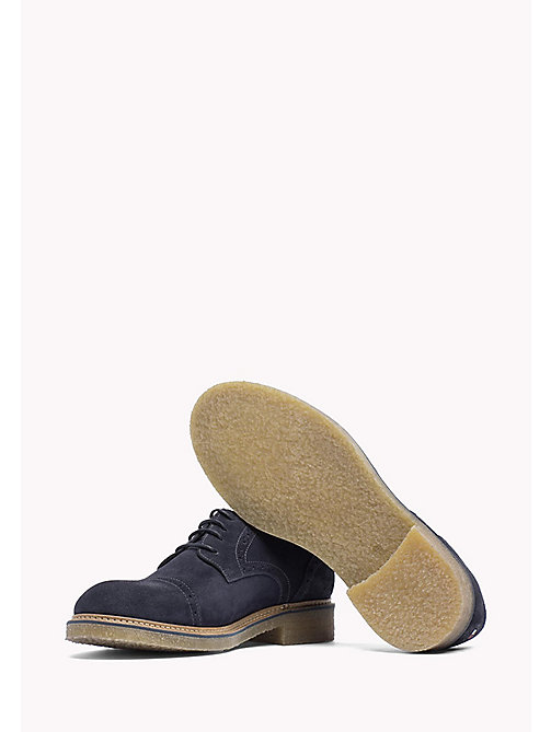 TOMMY HILFIGER Suede Lace-Up Shoe - MIDNIGHT - TOMMY HILFIGER Casual Shoes - detail image 1
