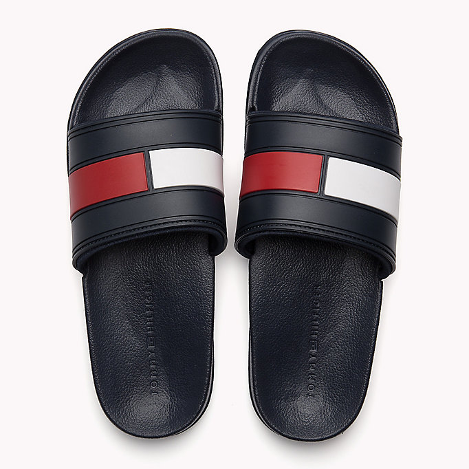 TOMMY HILFIGER Sliders - WHITE - TOMMY HILFIGER Shoes - detail image 3