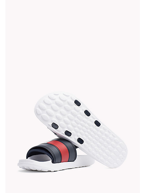 TOMMY HILFIGER Sliders - WHITE - TOMMY HILFIGER Summer shoes - detail image 1