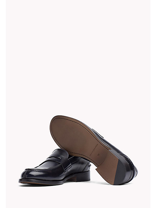 TOMMY HILFIGER Leather Loafer - MIDNIGHT - TOMMY HILFIGER Shoes - detail image 1
