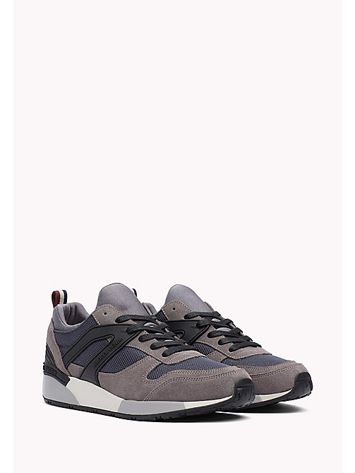 TOMMY JEANS Athletic Sneaker - STEEL GREY-SILVER - TOMMY JEANS Shoes - main image