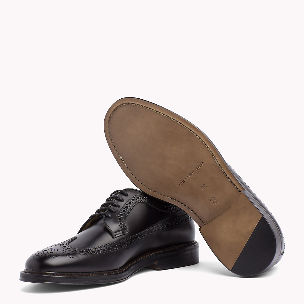 Iconic Leather Brogues - Sales Up to -50% Tommy Hilfiger