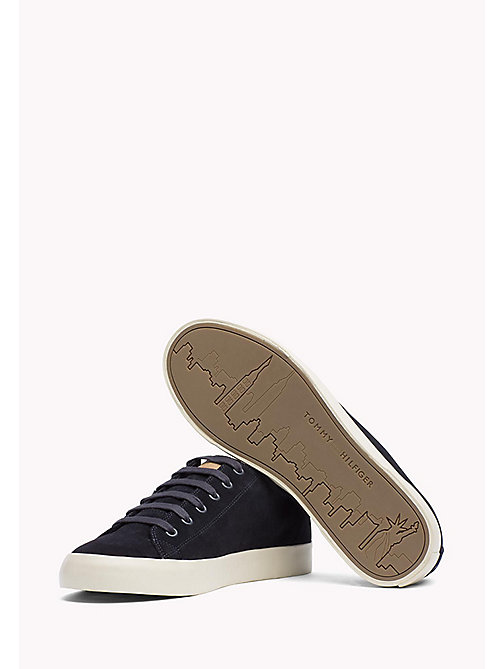 TOMMY HILFIGER Suede Sneaker - MIDNIGHT - TOMMY HILFIGER Shoes - detail image 1