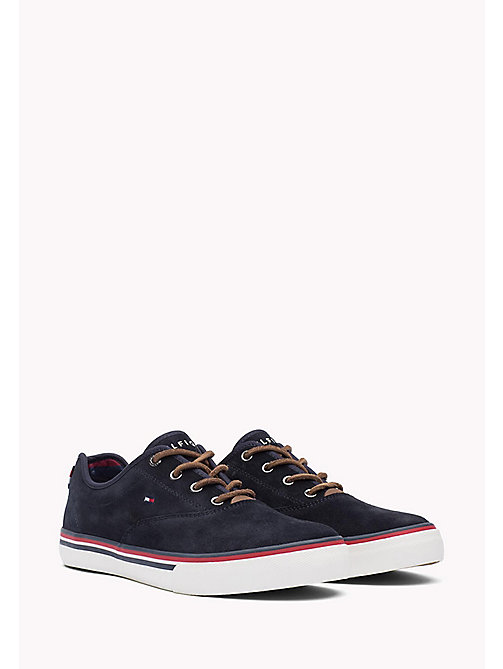 TOMMY HILFIGER Suede Sneaker - MIDNIGHT - TOMMY HILFIGER Shoes - main image
