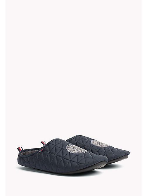 TOMMY HILFIGER Textile Slipper - MIDNIGHT - TOMMY HILFIGER Shoes - main image
