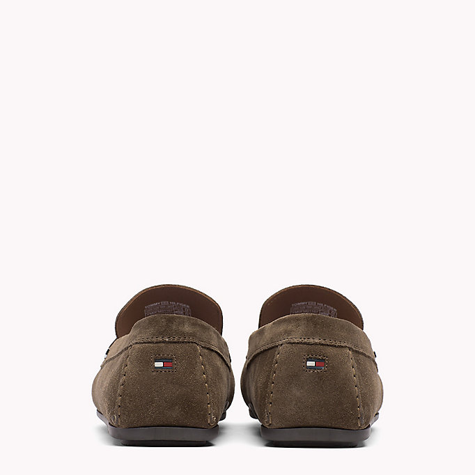 TOMMY HILFIGER Classic Suede Penny Loafers - JEANS - TOMMY HILFIGER Shoes - detail image 2