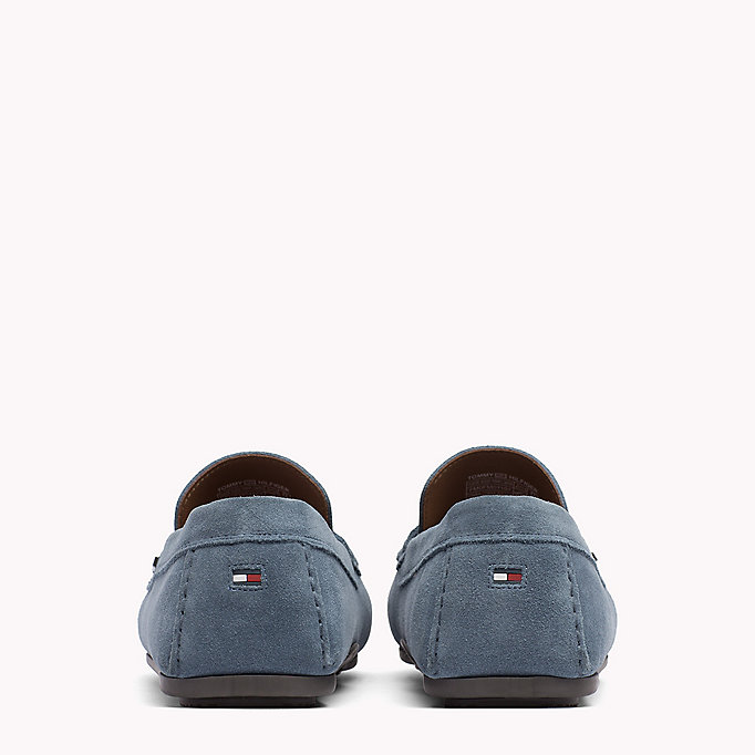 TOMMY HILFIGER Classic Suede Penny Loafers - MIDNIGHT - TOMMY HILFIGER Shoes - detail image 2
