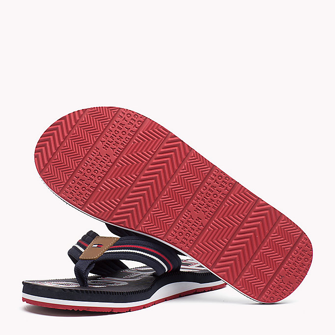 TOMMY HILFIGER Athletic Flip Flop - BLACK - TOMMY HILFIGER Shoes - detail image 1