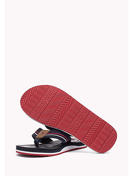 TOMMY HILFIGER Athletic Flip Flop - MIDNIGHT - TOMMY HILFIGER Flip Flops - detail image 1