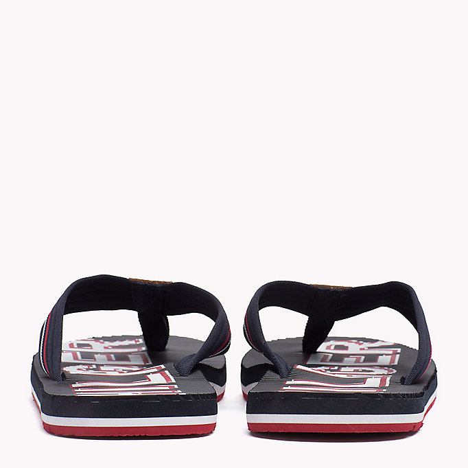 TOMMY HILFIGER Athletic Flip Flop - BLACK - TOMMY HILFIGER Shoes - detail image 2