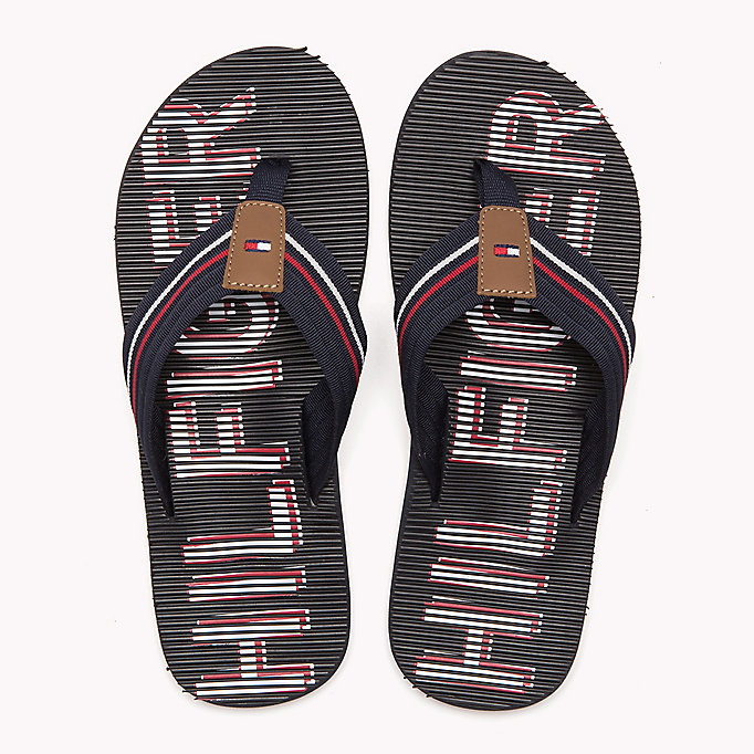 TOMMY HILFIGER Athletic Flip Flop - BLACK - TOMMY HILFIGER Shoes - detail image 3