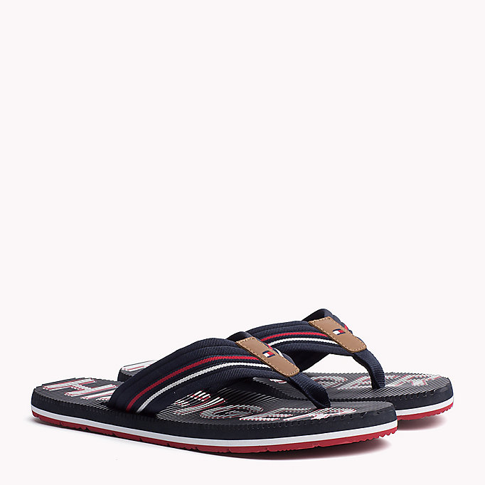 TOMMY HILFIGER Athletic Flip Flop - BLACK - TOMMY HILFIGER Shoes - main image