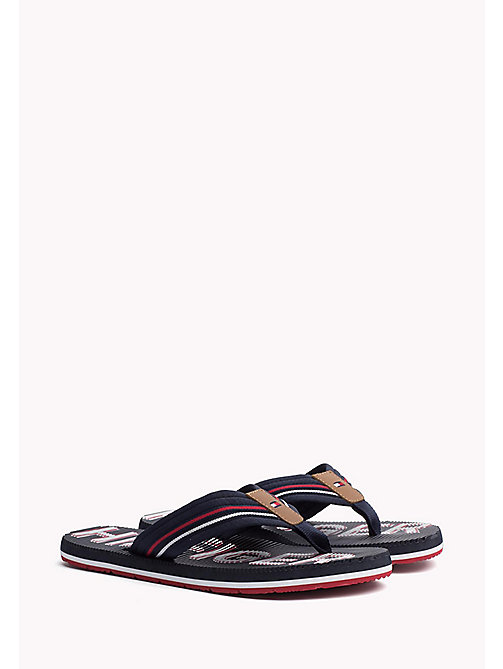 TOMMY HILFIGER Athletic Flip Flop - MIDNIGHT - TOMMY HILFIGER Flip Flops - main image