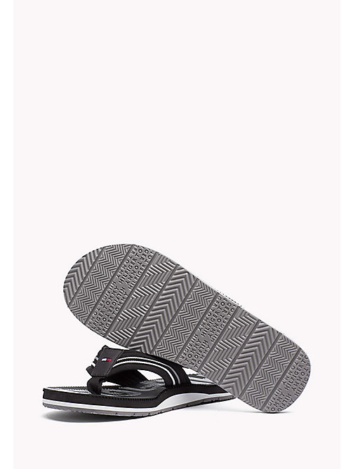 TOMMY HILFIGER Athletic Flip Flop - BLACK - TOMMY HILFIGER Sandals & Flip Flops - detail image 1
