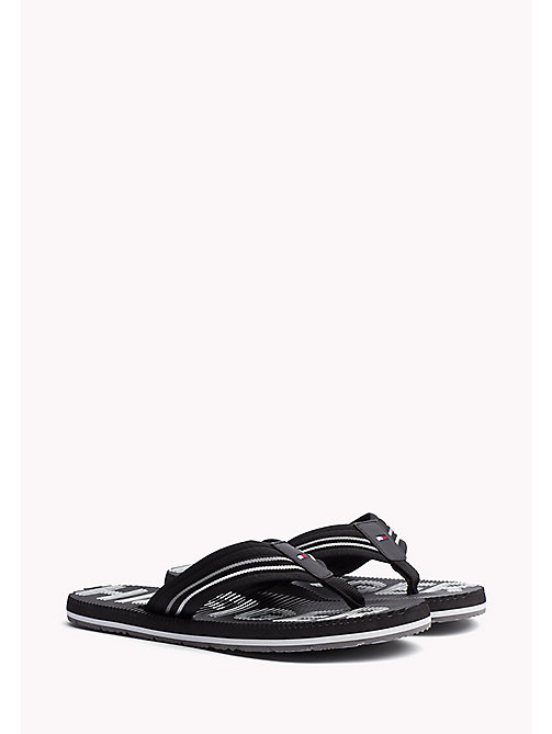TOMMY HILFIGER Athletic Flip Flop - BLACK - TOMMY HILFIGER Sandals & Flip Flops - main image
