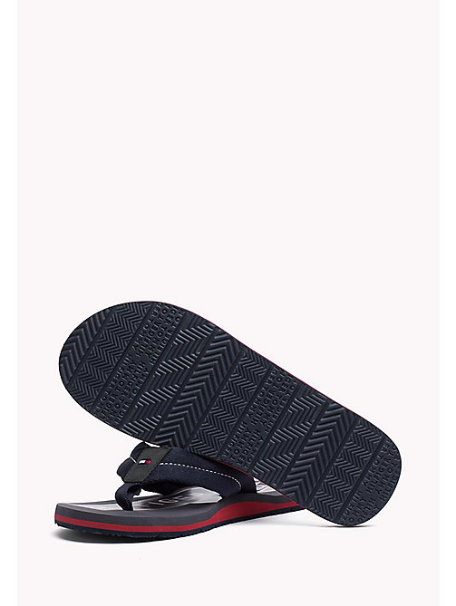 TOMMY HILFIGER Athletic Flip Flop - MIDNIGHT - TOMMY HILFIGER Sandals & Flip Flops - detail image 1