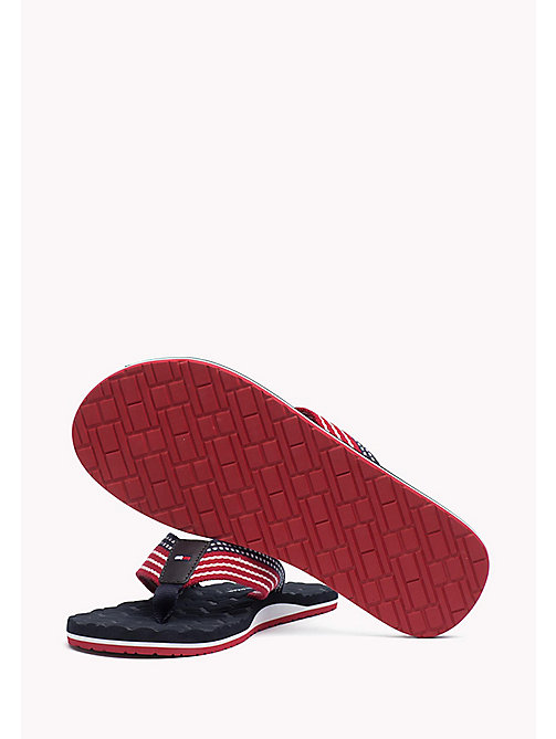 TOMMY HILFIGER Athletic Flip Flop - MIDNIGHT - TOMMY HILFIGER Shoes - detail image 1