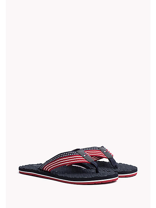 TOMMY HILFIGER Athletic Flip Flop - MIDNIGHT - TOMMY HILFIGER Sandals & Flip Flops - main image