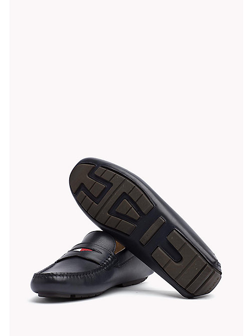 TOMMY HILFIGER Leather Mocassin - MIDNIGHT - TOMMY HILFIGER Casual Shoes - detail image 1