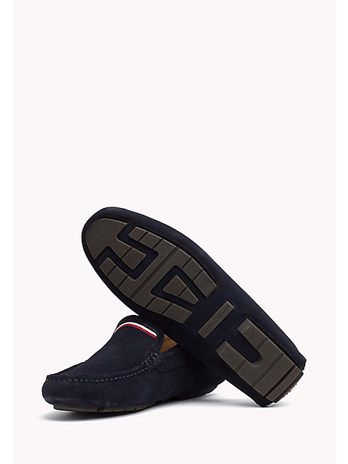 TOMMY HILFIGER Suede Mocassin - MIDNIGHT - TOMMY HILFIGER Casual Shoes - detail image 1