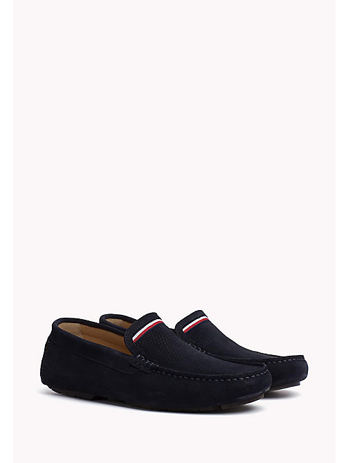 TOMMY HILFIGER Suede Mocassin - MIDNIGHT - TOMMY HILFIGER Casual Shoes - main image