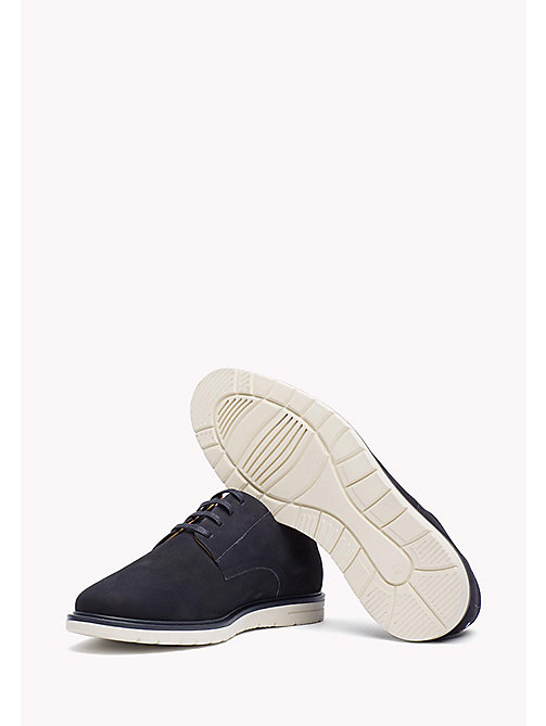 Nubuck Lace-Up Shoe - MIDNIGHT - TOMMY HILFIGER Shoes - detail image 1