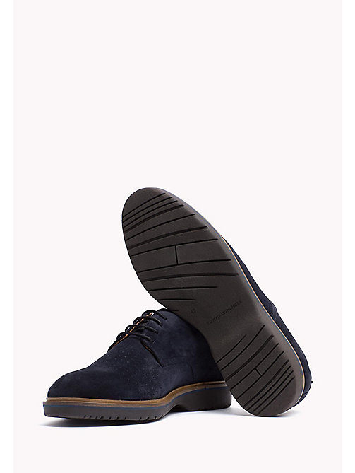 Suede Lace-Up Shoe - MIDNIGHT - TOMMY HILFIGER Shoes - detail image 1