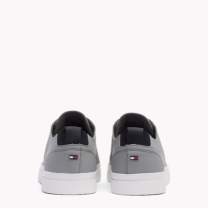 TOMMY HILFIGER Leather Sneaker - MIDNIGHT - TOMMY HILFIGER Shoes - detail image 2
