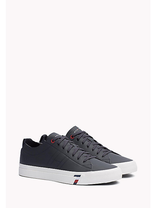 TOMMY HILFIGER Leather Sneaker - MIDNIGHT - TOMMY HILFIGER Best Sellers - main image