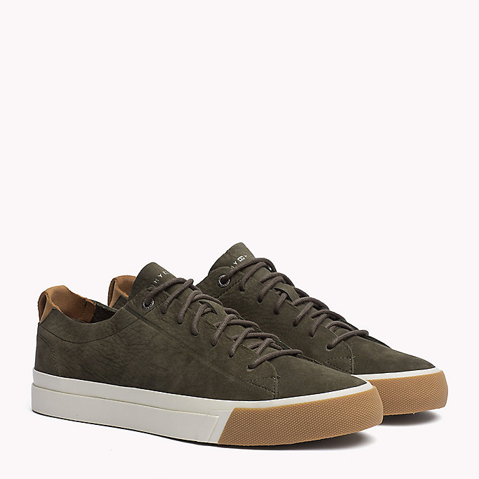 TOMMY HILFIGER Nubuck Sneaker - MIDNIGHT - TOMMY HILFIGER Men - main image