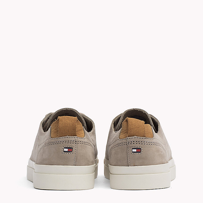 TOMMY HILFIGER Nubuck Sneaker - OLIVE NIGHT - TOMMY HILFIGER Men - detail image 2