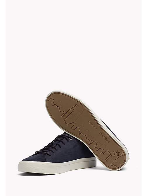 Nubuck Sneaker - MIDNIGHT - TOMMY HILFIGER Shoes - detail image 1