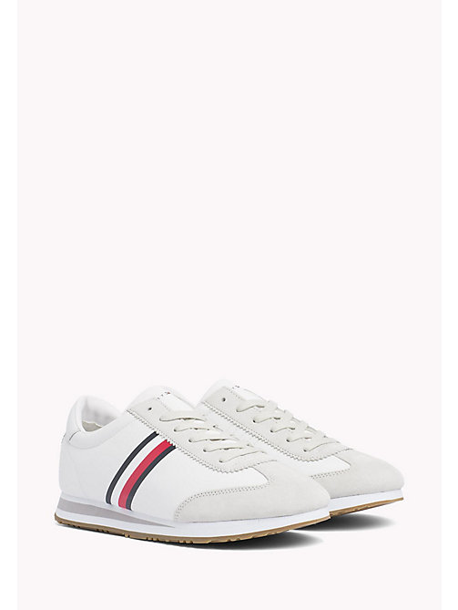 TOMMY HILFIGER Classic Stripe Trainers - WHITE - TOMMY HILFIGER Schuhe - main image