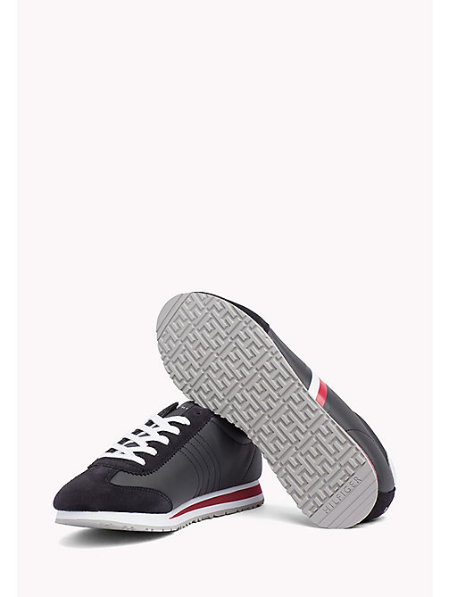 TOMMY HILFIGER Classic Stripe Trainers - MIDNIGHT - TOMMY HILFIGER Summer shoes - detail image 1