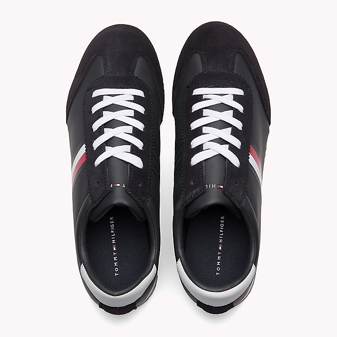 TOMMY HILFIGER Classic Stripe Trainers - WHITE - TOMMY HILFIGER Shoes - detail image 3