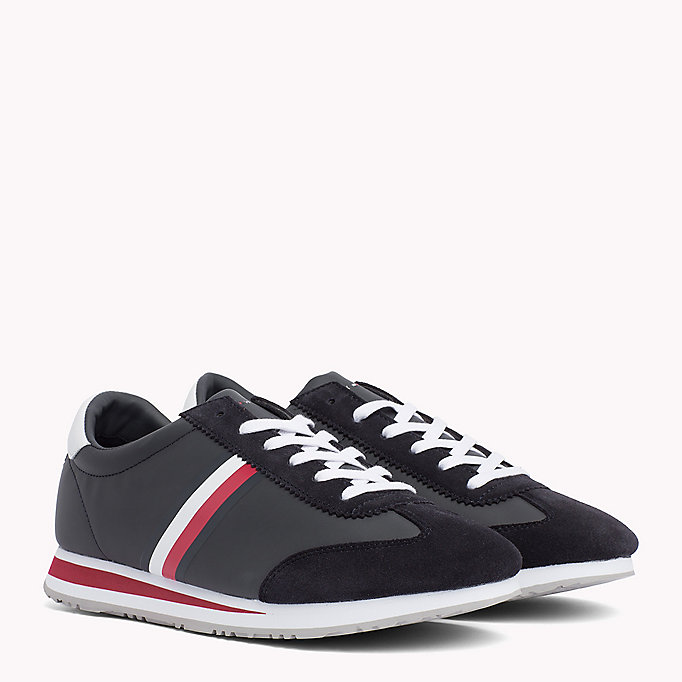 TOMMY HILFIGER Classic Stripe Trainers - WHITE - TOMMY HILFIGER Men - main image