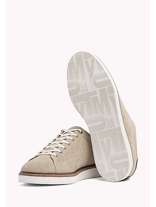 TOMMY HILFIGER Hybrid Suede Lace-Up Shoes - SAND - TOMMY HILFIGER Trainers - detail image 1