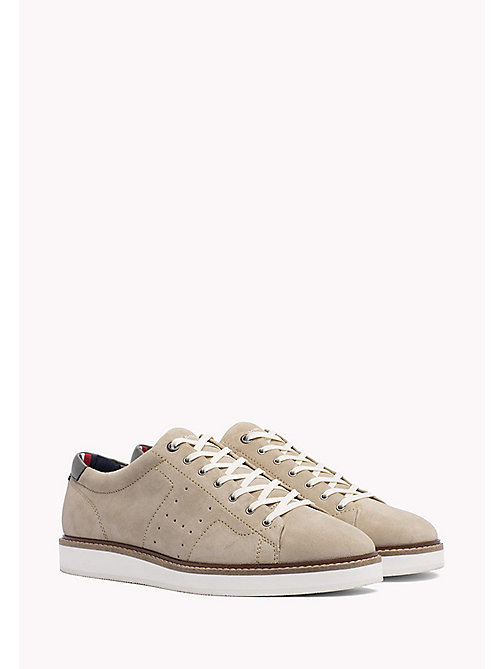TOMMY HILFIGER Hybrid Suede Lace-Up Shoes - SAND - TOMMY HILFIGER Trainers - main image