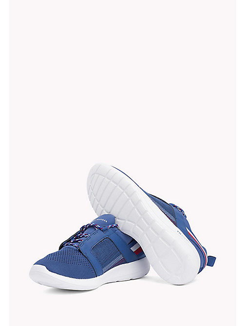 TOMMY HILFIGER Lightweight Signature Stripe Trainers - MONACO BLUE - TOMMY HILFIGER Summer shoes - detail image 1