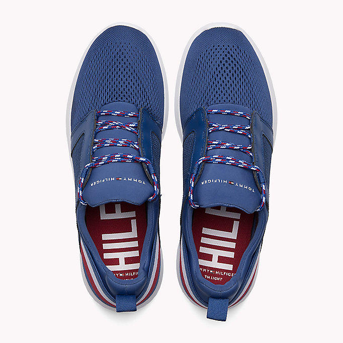 TOMMY HILFIGER Lightweight Signature Stripe Trainers - BLACK - TOMMY HILFIGER Shoes - detail image 3