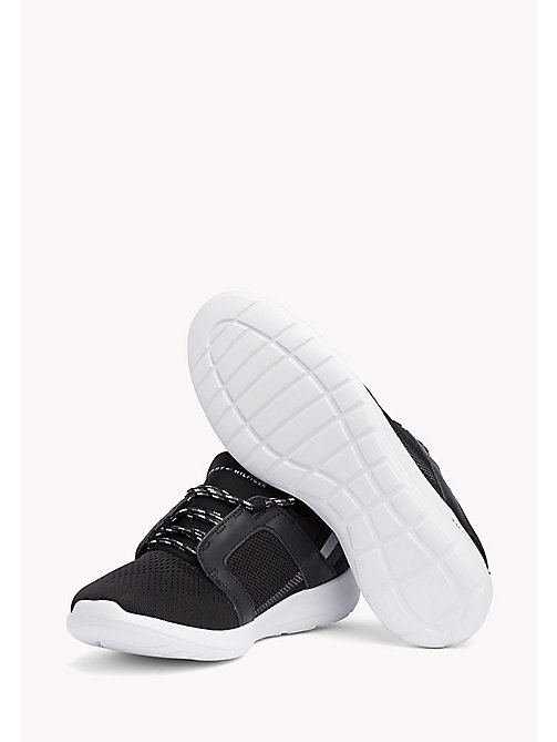 TOMMY HILFIGER Lightweight Signature Stripe Trainers - BLACK - TOMMY HILFIGER Summer shoes - detail image 1