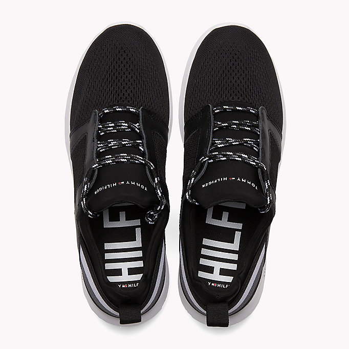 TOMMY HILFIGER Lightweight Signature Stripe Trainers - MIDNIGHT - TOMMY HILFIGER Shoes - detail image 3