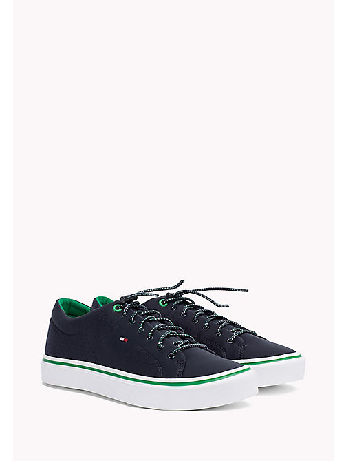 TOMMY HILFIGER Lightweight Neoprene Trainers - MIDNIGHT - TOMMY HILFIGER NEW IN - main image