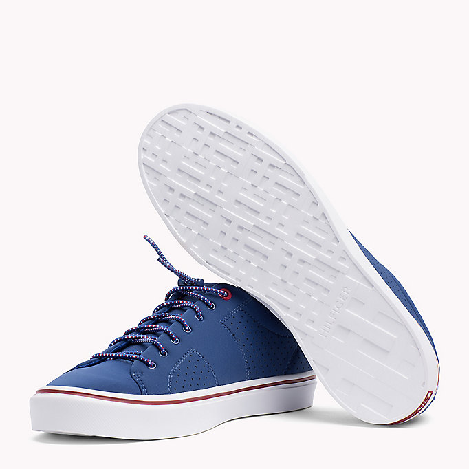 TOMMY HILFIGER Lightweight Neoprene Trainers - MIDNIGHT - TOMMY HILFIGER Men - detail image 1