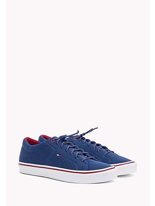 TOMMY HILFIGER Lightweight Neoprene Trainers - MONACO BLUE - TOMMY HILFIGER Summer shoes - main image