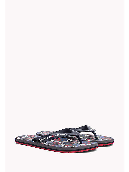 TOMMY HILFIGER NYC Beach Sandals - MIDNIGHT - TOMMY HILFIGER Summer shoes - main image
