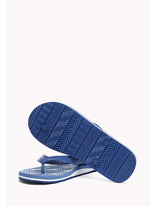 TOMMY HILFIGER Japonki plażowe NYC - MONACO BLUE - TOMMY HILFIGER Summer shoes - detail image 1