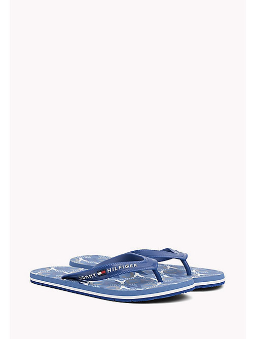 TOMMY HILFIGER Japonki plażowe NYC - MONACO BLUE - TOMMY HILFIGER Summer shoes - main image