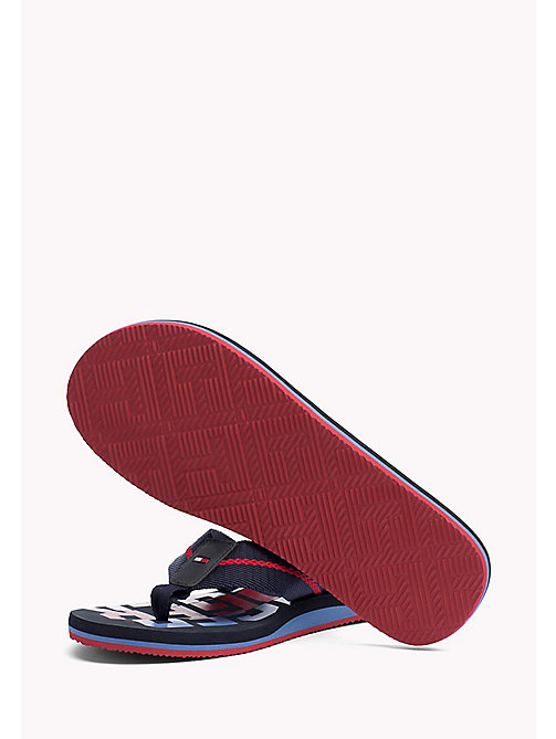 TOMMY HILFIGER Signature Colour Beach Sandals - MIDNIGHT - TOMMY HILFIGER Sandals & Flip Flops - detail image 1