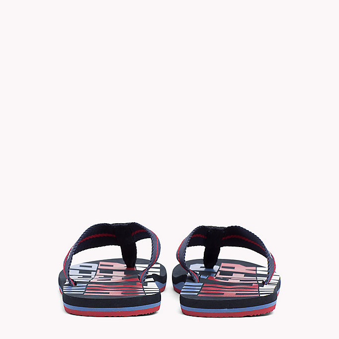 TOMMY HILFIGER Signature Colour Beach Sandals - BLACK - TOMMY HILFIGER Shoes - detail image 2